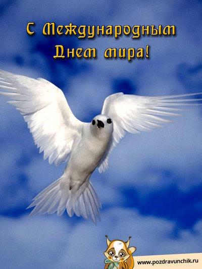 С международным Днем мира!