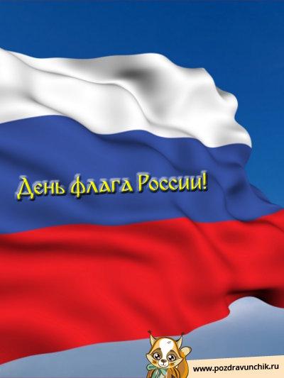 День флага России!